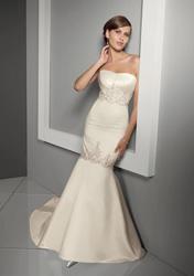 свадебное платье русалка - рыбка