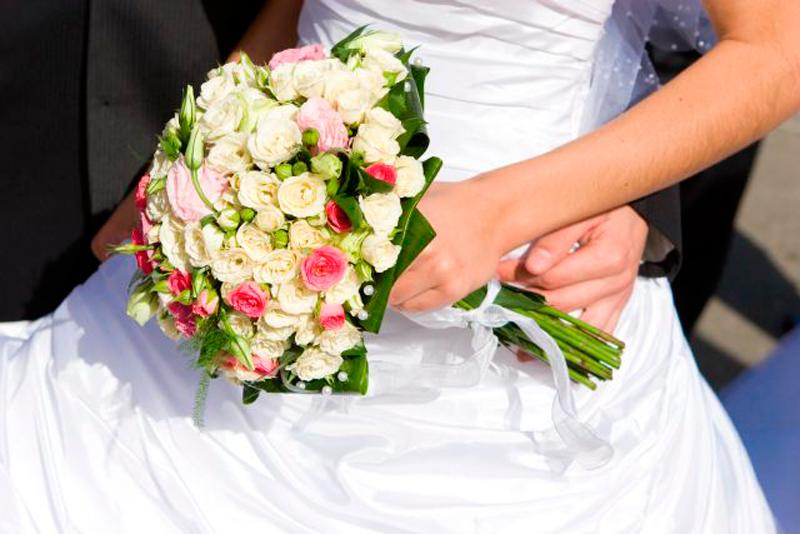 традиционный букет невесты