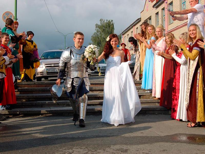 сценарий для рыцарской свадьбы