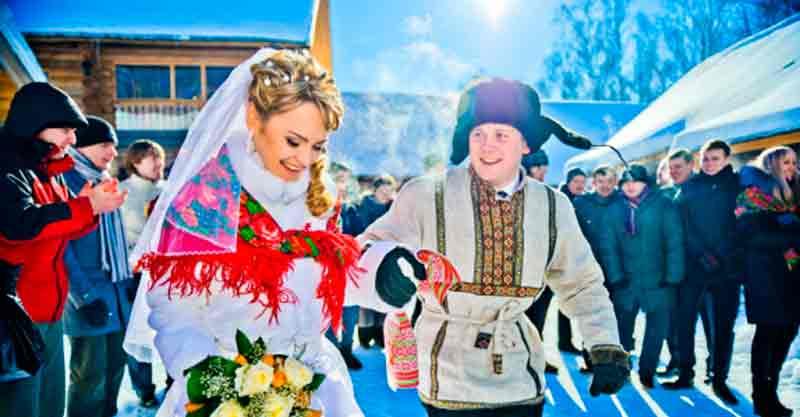 Свадьба в русском стиле русские свадебные обычаи