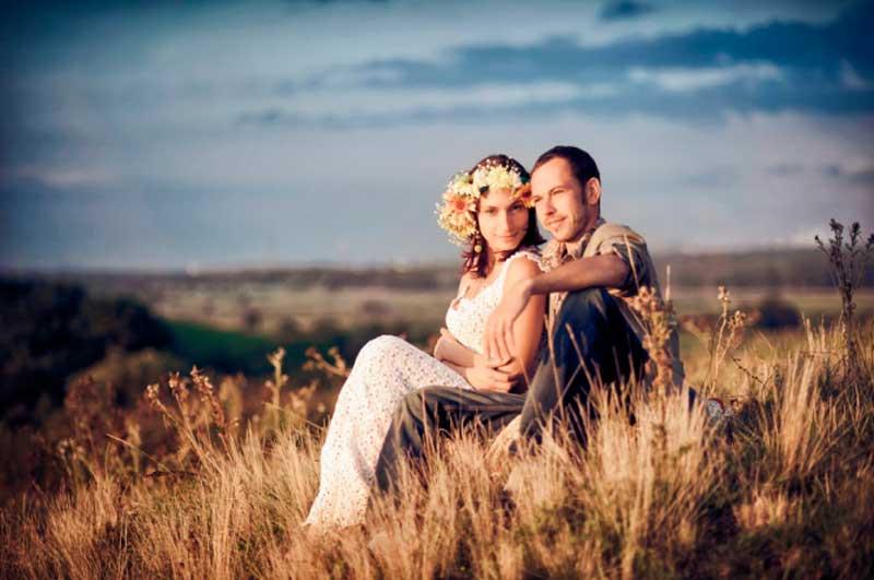 Летняя свадьба в стиле Рустик фото