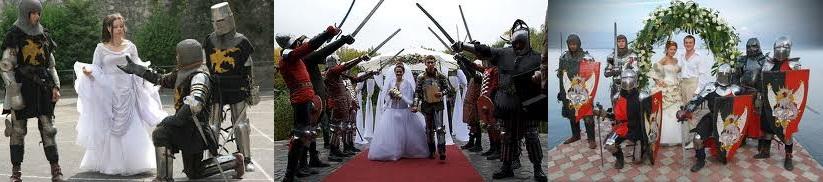 Сценарий рыцарской свадьбы