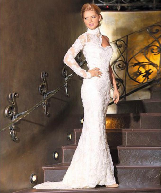Свадебное платье Анастасии Залорожной