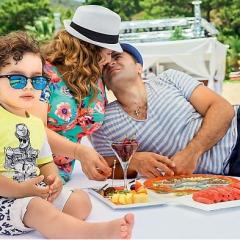 Анфиса, Гурам и их сын
