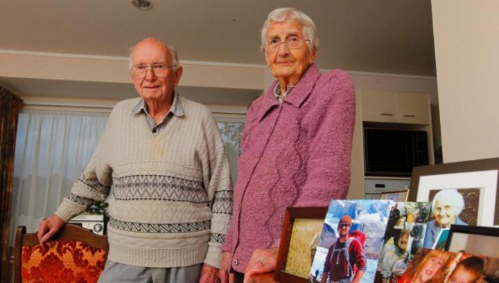 Джоан и Хью из новой Зеландии