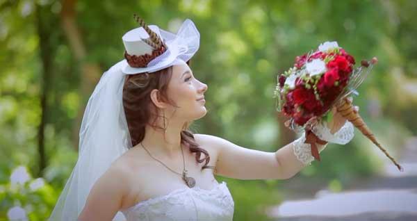 фото невесты в стиле стимпанк